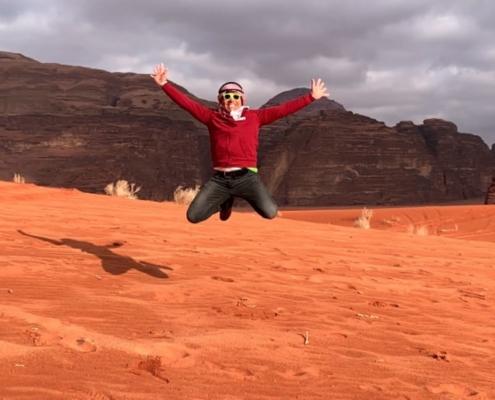 Luca Dominici in Giordania