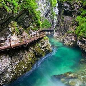 Viaggio organizzato alle Gole di Vintgar in Slovenia